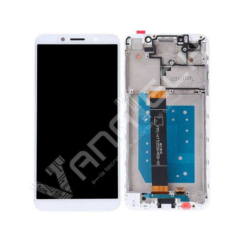 DISPLAY SCHERMO LCD TOUCH SCREEN CON FRAME HUAWEI ASCEND P10 LITE GOLD ORO
