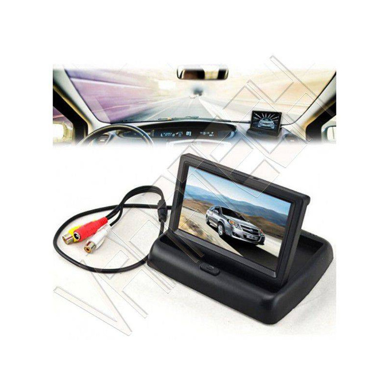MONITOR RETROMARCIA LCD A...