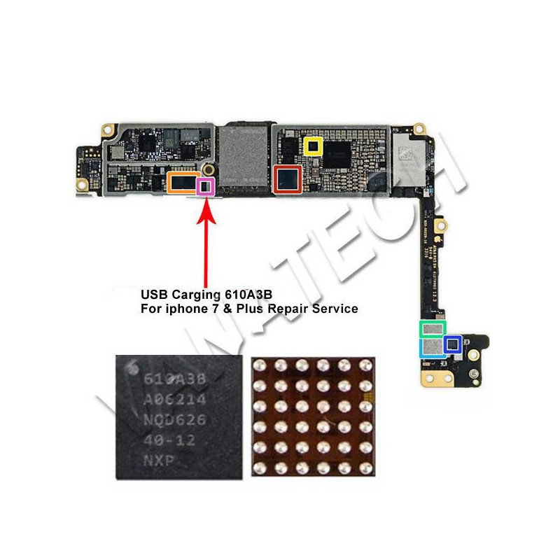 U2 610A3B IC CONTROLLER...