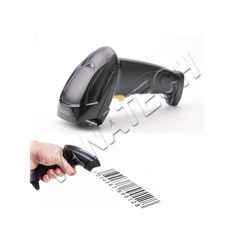 LETTORE BARCODE SCANNER...