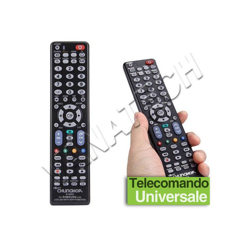 TELECOMANDO UNIVERSALE PER...